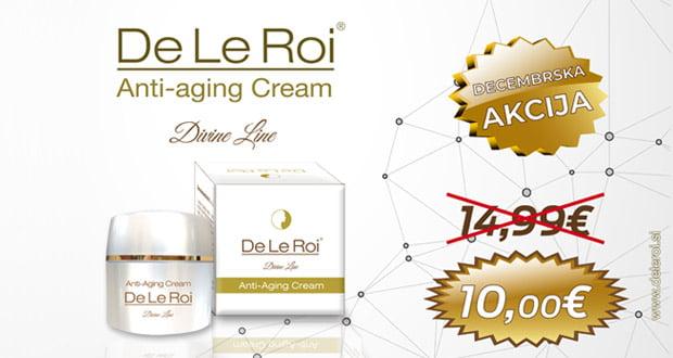 Krema za obraz,DeLeRoi,anti aging cream,